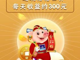 猪猪世界:获取分红猪,每天分红300元!